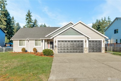 Spanaway Single Family Home For Sale: 843 176th St S