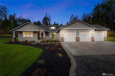 Gig Harbor Single Family Home For Sale: 10515 129th St NW