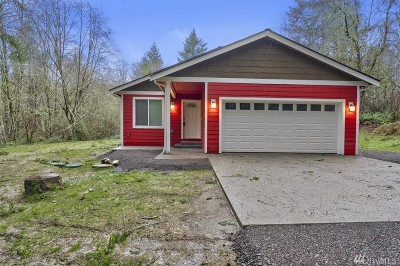 Single Family Home For Sale: 11804 160th Ave NW