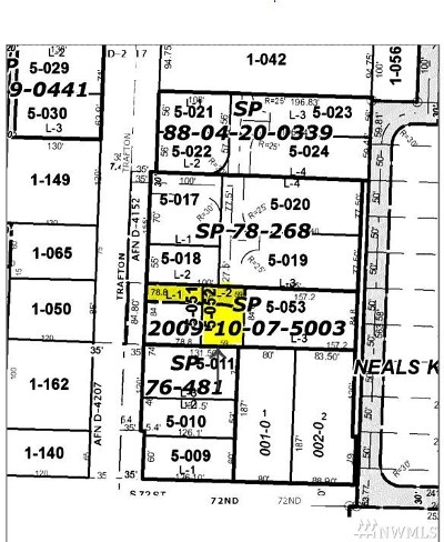 Tacoma Residential Lots & Land For Sale: 7029 S Trafton St