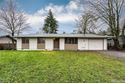 Tenino Single Family Home For Sale: 648 Huston St S