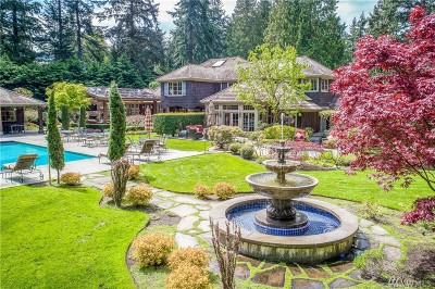 Snohomish County Single Family Home For Sale: 23323 Woodway Park Rd