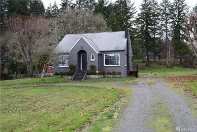 Chehalis Single Family Home For Sale: 2907 Jackson Hwy