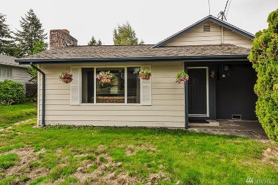 Normandy Park Single Family Home For Sale: 16813 19th Ave SW