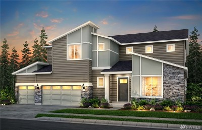 Bothell Single Family Home For Sale: 3219 216th (Lot 1) Place SE