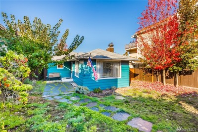 Seattle Single Family Home For Sale: 7433 California Ave SW