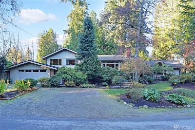 Mercer Island Single Family Home For Sale: 8820 SE 63rd St