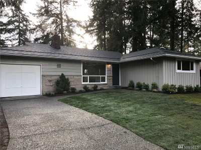 Shoreline Single Family Home For Sale: 16709 Fremont Ave N