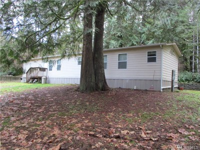 Gig Harbor Single Family Home Pending Inspection: 14807 NW 180th Ave