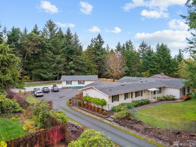 Gig Harbor Single Family Home For Sale: 3615 107th St NW