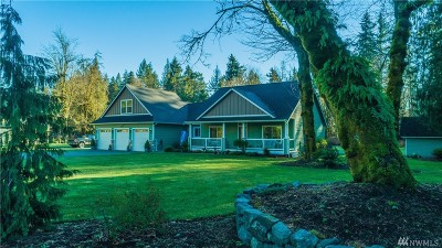 Olympia Single Family Home For Sale: 5435 93rd Ave SE
