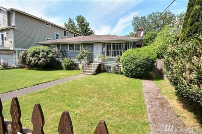 Seattle Single Family Home For Sale: 5523 13th Ave S