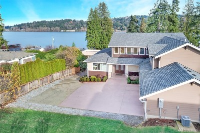 Redmond Single Family Home For Sale: 2829 W Lake Sammamish Pkwy NE