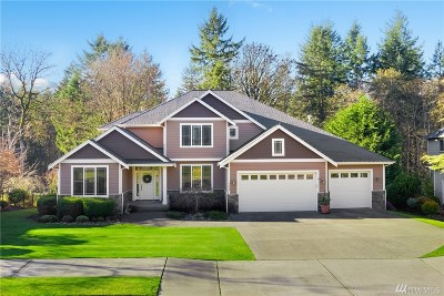 Gig Harbor Single Family Home Pending Inspection: 7322 N Creek Lp NW