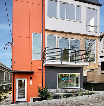 Seattle Condo/Townhouse For Sale: 2515 E Yesler Wy #A