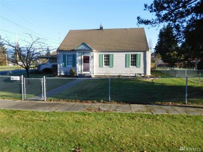 Sedro Woolley Single Family Home Sold: 501 Central St
