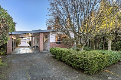 Seattle Single Family Home For Sale: 127 NW 136th St