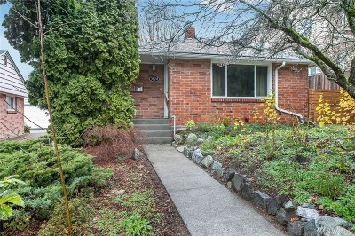 Seattle Single Family Home For Sale: 3524 SW Monroe St