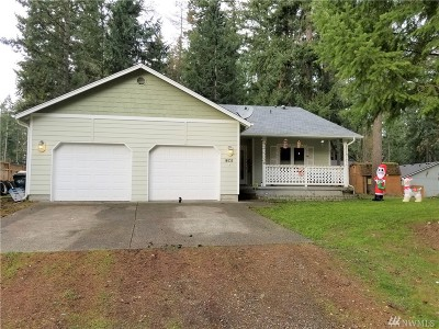 Yelm Single Family Home For Sale: 18535 Rampart Dr SE