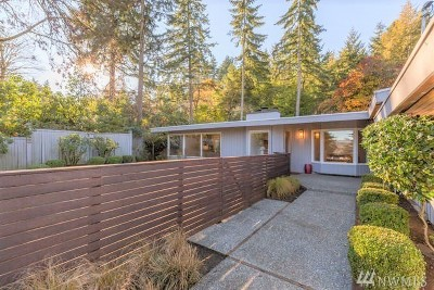 Mercer Island Single Family Home For Sale: 6925 93rd Ave SE