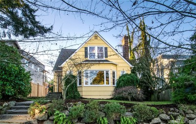 Seattle Single Family Home For Sale: 6521 37th Ave SW