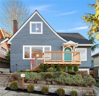 Seattle Single Family Home For Sale: 2617 2nd Ave N