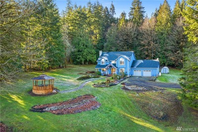 Chehalis Single Family Home For Sale: 935 Bunker Creek Rd
