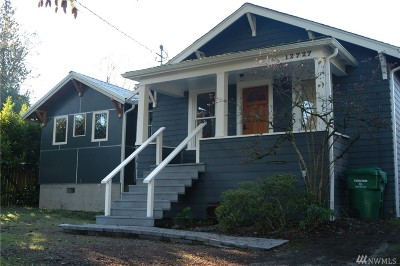 Seattle Single Family Home For Sale: 12727 Fremont Ave N