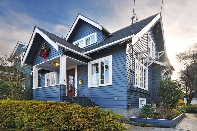 Seattle Single Family Home For Sale: 1627 N 51st St