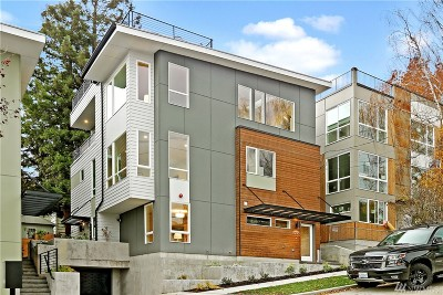 Seattle Single Family Home For Sale: 3933 2nd Ave NE