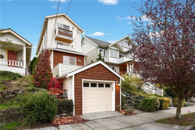 Seattle Single Family Home For Sale: 6536 Sycamore Ave NW