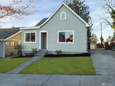 Tacoma Single Family Home For Sale: 5224 S State St