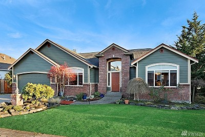 Puyallup Single Family Home For Sale: 18127 92nd Ave E