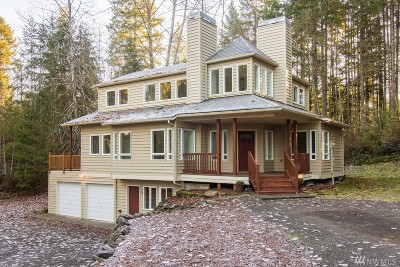 Mason County Single Family Home Pending Inspection: 393 E Cedar St