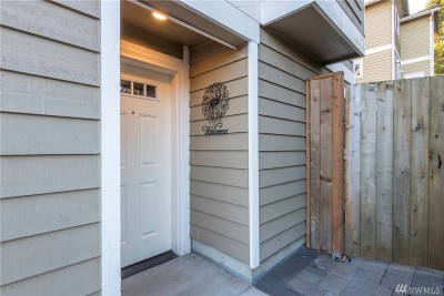 Seattle Single Family Home For Sale: 9707 Roosevelt Wy NE #B