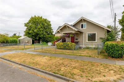 Tacoma Single Family Home For Sale: 1211 S 52nd St