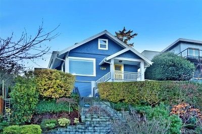 Seattle Single Family Home For Sale: 109 Newell St