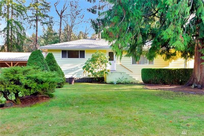 Sumner Single Family Home For Sale: 12315 214th Ave E