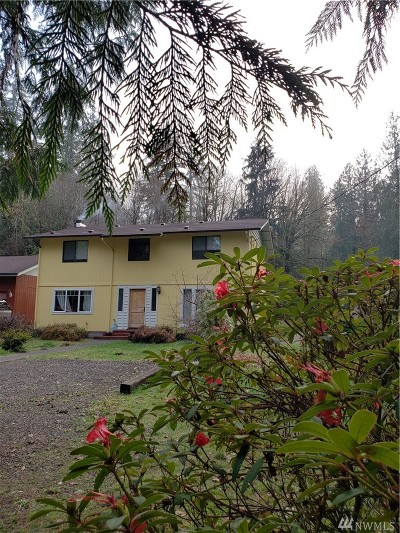 McCleary Single Family Home For Sale: 182 E Mox Chehalis Rd