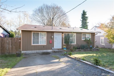 Tacoma Single Family Home For Sale: 1605 S Proctor St