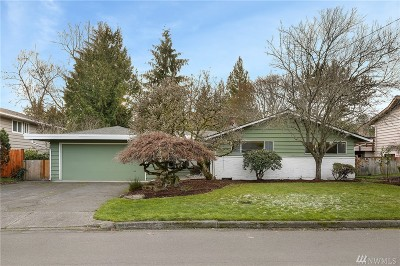 King County Single Family Home For Sale: 4209 NE 103rd Place