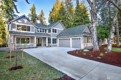 Mercer Island Single Family Home For Sale: 8414 SE 37th St