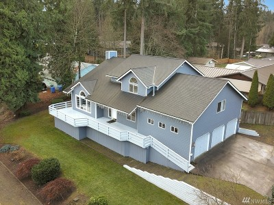 Lake Tapps Single Family Home For Sale: 18018 45th St E