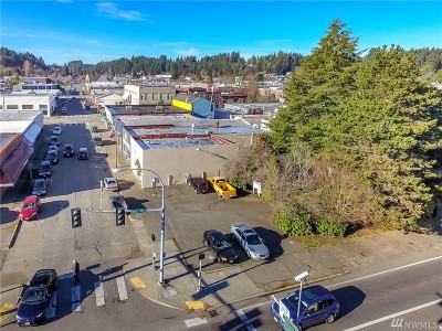 Shelton Commercial For Sale: 112 W Cota St
