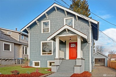 Bremerton Single Family Home For Sale: 1232 7th St