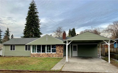Tacoma Single Family Home For Sale: 759 114th St S