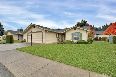 Centralia Single Family Home For Sale: 1181 A Tennyson Dr