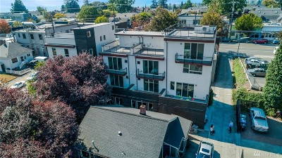Seattle Condo/Townhouse For Sale: 308 N 74th St #A