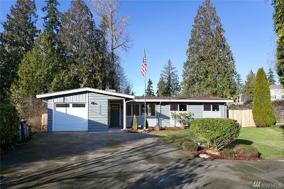 Lynnwood Single Family Home For Sale: 2525 202nd Place