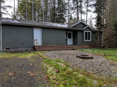 Shelton WA Single Family Home For Sale: $130,000